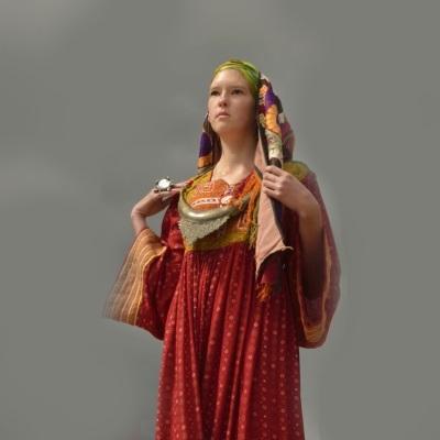 Показ мод Африка -Афганистан на фестивале камнерезов 2014