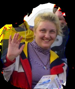 2nd prize:  ANGELA mine, author Struenze Ingrid   , Moscow