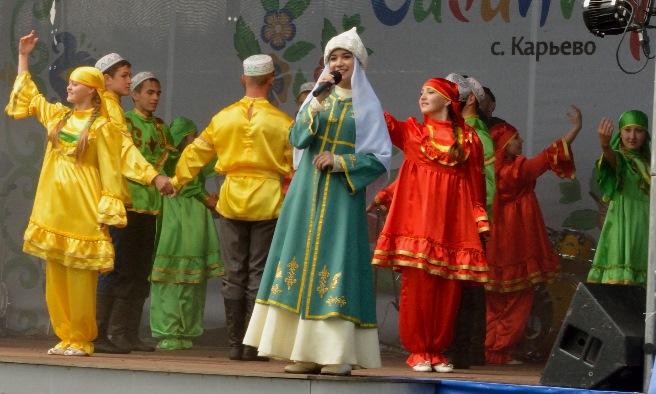 Сабантуй в Карьево - 2015г
