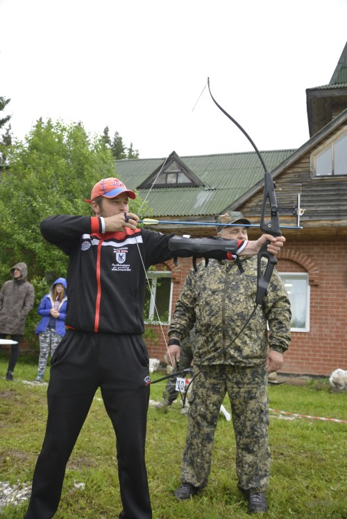 Competitions of archers in The village Red Yasyl, 2017
